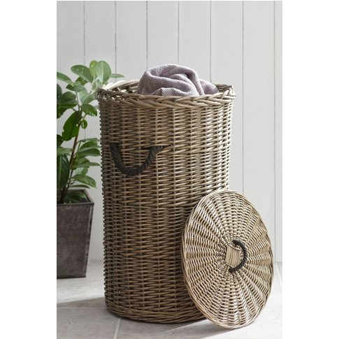 Next Woven Laundry Basket -  Natural