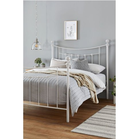 Next Isabella White Bed -  White