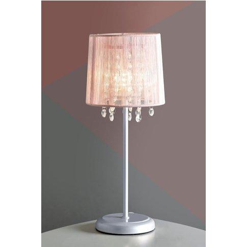 Next Small Pink Palazzo Table Lamp -  Pink