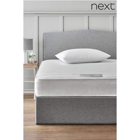 Next Rolled Open Sprung Memory Foam Medium Mattress ...