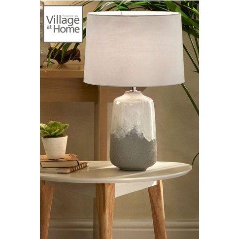 Village At Home Noah Table Lamp -  Grey
