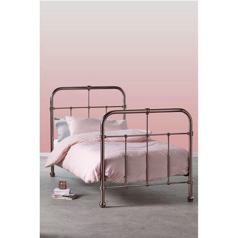 Next Galexia Pink Metal Bed -  Pink