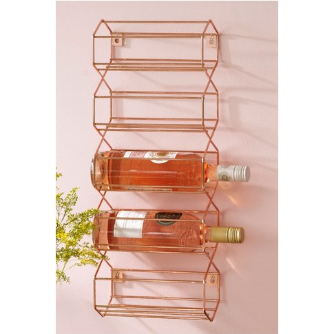 Next Wall Mounted Wine Rack -  Copper