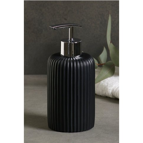 Next Textured Soap Dispenser -  Black