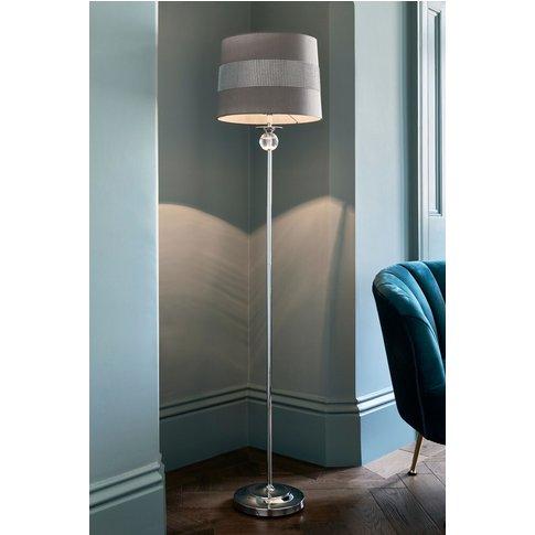 Next Diamanté Floor Lamp -  Chrome