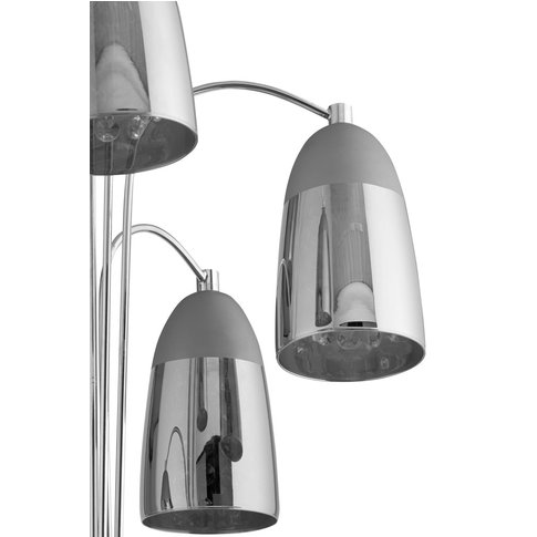 Next Phoebe Floor Lamp Spare Shade -  Grey