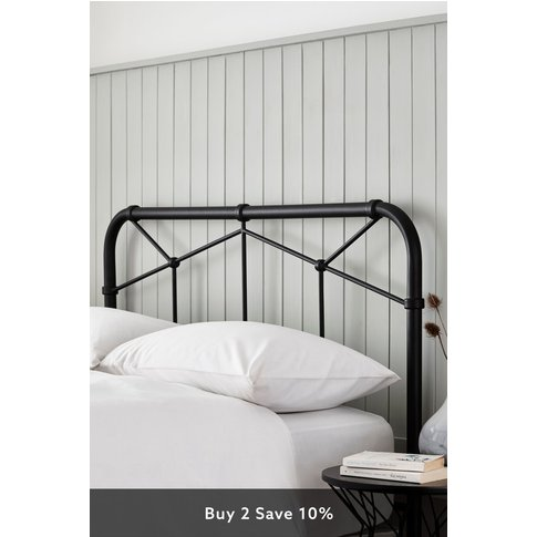 Next Catalina Headboard -  Black