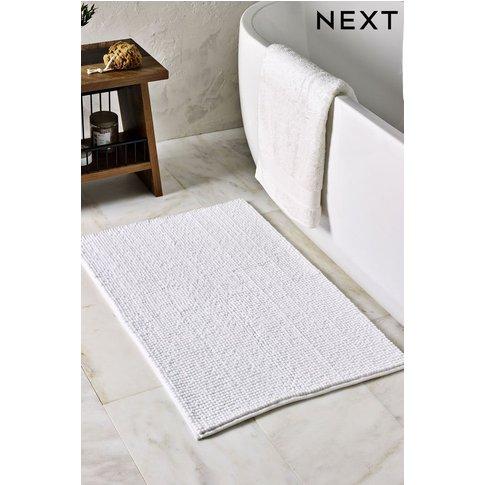 Next Bobble Bath Mat -  White