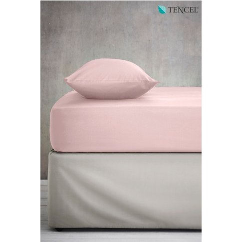 Next Cool Touch TENCEL Blend Fitted Sheet -  Pink