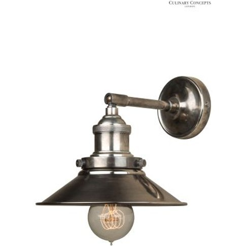 Culinary Concepts Prohibition Wall Light -  Silver