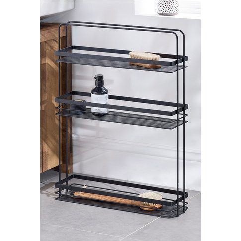 Next Slim Storage Unit -  Black