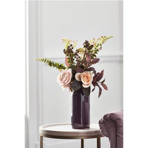 Next Rose Mix Vase -  Purple