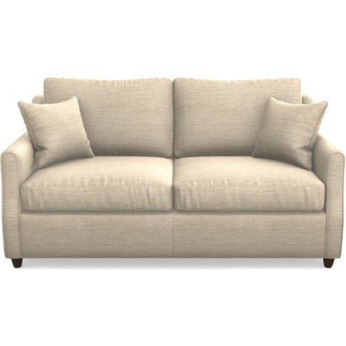 Gower Compact 3 Seater Sofabed In Textured Velvet- A...