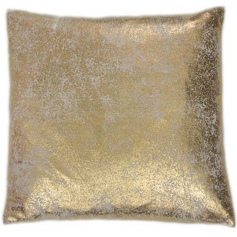 Graham & Brown Gold Shimmer Metallic Cushion