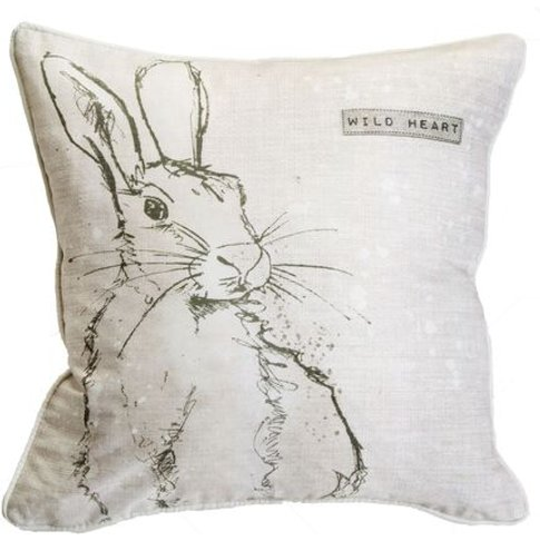 Graham & Brown Wild Heart Hare Cushion