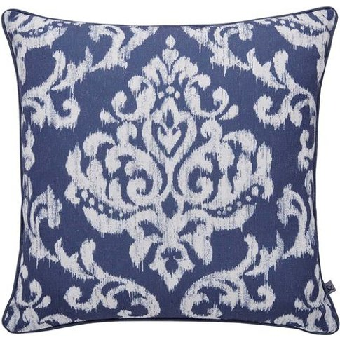 Graham & Brown Indian Ink Blue Cushion