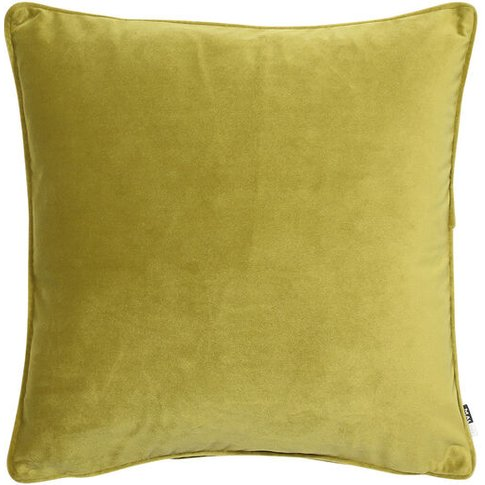Graham & Brown Olive Luxe Cushion