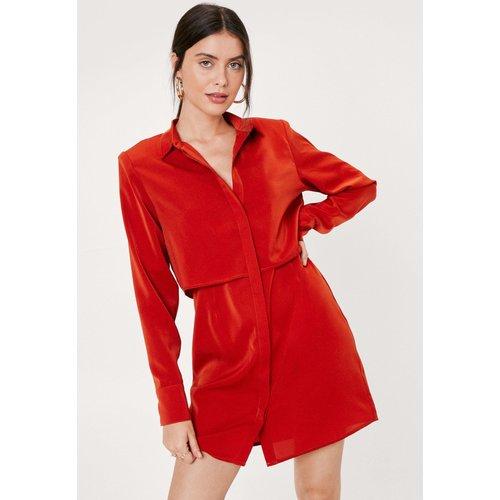 Plain Mini Shirt Dress - Nasty Gal - Modalova
