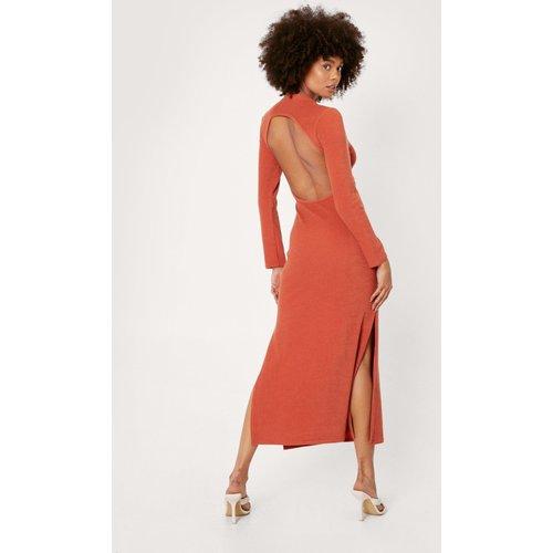 Recycled Backless Bodycon Midaxi Dress - Nasty Gal - Modalova
