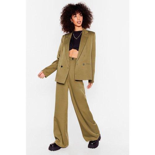 Womens Pantalon Large J'Ai Un Succès Fou - Nasty Gal - Modalova