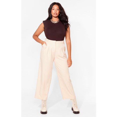 Womens Grande Taille - Pantalon De Costume Taille Haute Ton Amour Me Costume - Nasty Gal - Modalova