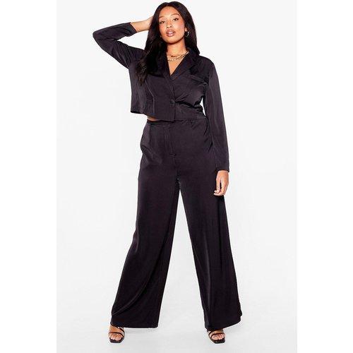 Womens Grande Taille - Pantalon Large Madame La Boss - Nasty Gal - Modalova