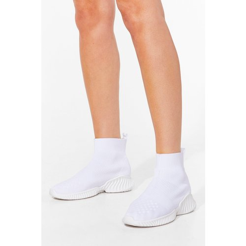 Womens Baskets Chaussettes Montantes - Nasty Gal - Modalova
