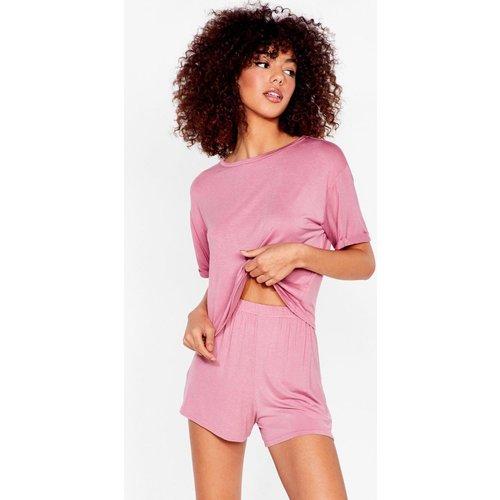 Womens Pyjama T-Shirt & Short Dodo Sinon Rien - Nasty Gal - Modalova