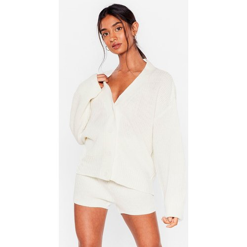 Womens In The Thick Of Knit Cardigan And Shorts Lounge Set - Nasty Gal - Modalova