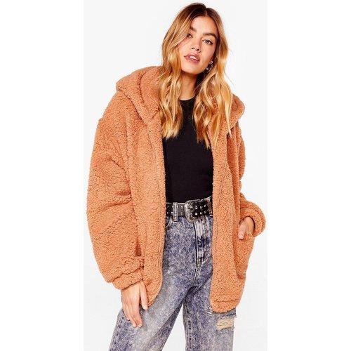 Womens Teddy Or Not Faux Fur Oversized Jacket - Nasty Gal - Modalova