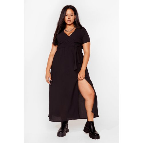 Womens Grande Taille - Dressing Gown Portefeuille Longue - Nasty Gal - Modalova