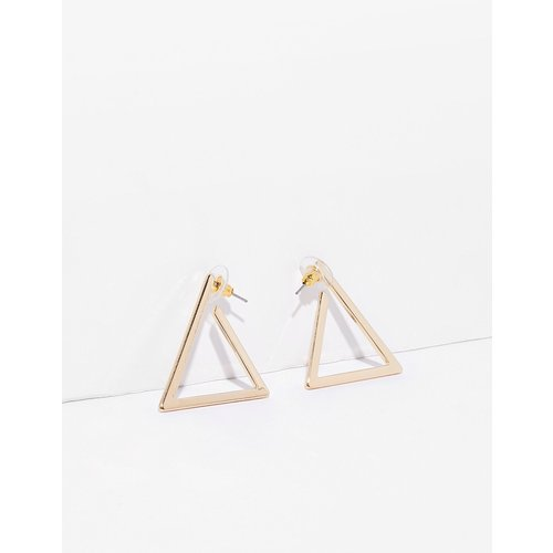 Womens Boucles D'Oreilles Pendantes Triangle - Nasty Gal - Modalova