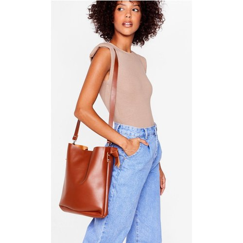 Womens Tote Bag Want En Similicuir À Bandoulière - Nasty Gal - Modalova