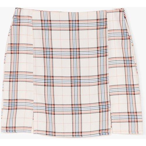 Womens Mini Jupe Taille Haute À Carreaux Carreau Technique - Nasty Gal - Modalova