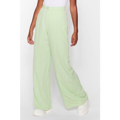 Womens Pantalon Large À Taille Haute - Nasty Gal - Modalova