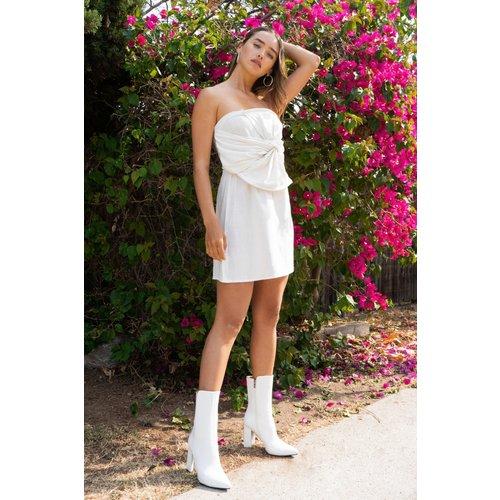 Womens Dressing Gown Bustier En Lin Avec Nœud Il Faut A-Bustier Des Bonnes Choses - Nasty Gal - Modalova