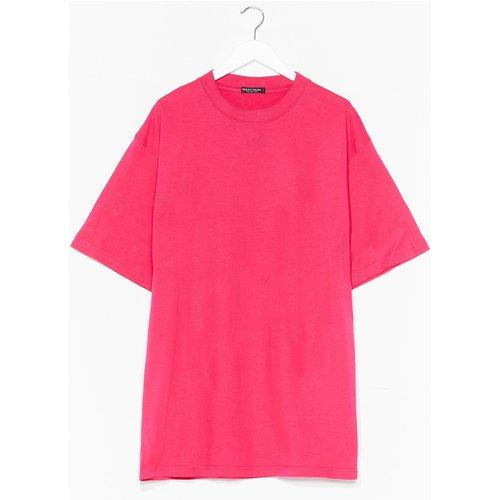 Womens T-Shirt Basique Oversize Basique Mais Stylée - Nasty Gal - Modalova