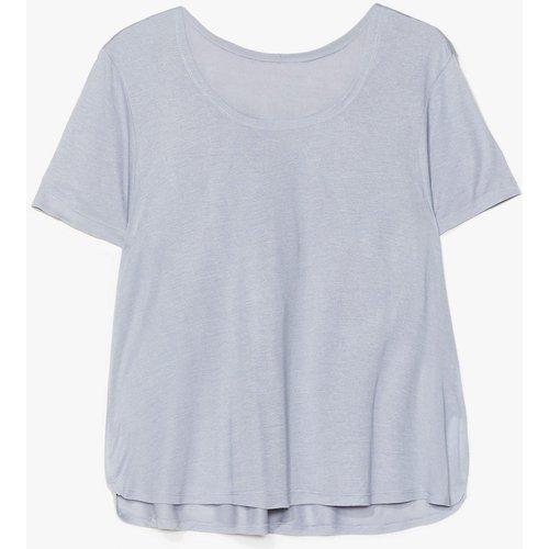Womens T-Shirt Basique À Col Rond À Base De Bisous - Nasty Gal - Modalova