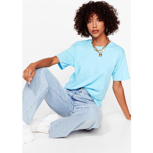 Womens T-Shirt Oversize Basique - Nasty Gal - Modalova