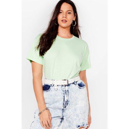 Womens T-Shirt Ample Basique - Nasty Gal - Modalova