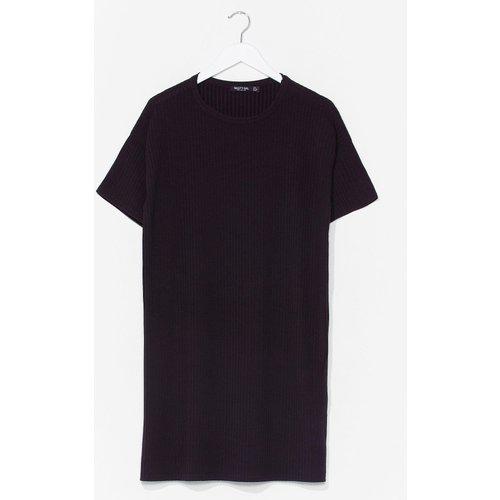 Womens Dressing Gown T-Shirt Côtelée T Pas Prête - Nasty Gal - Modalova