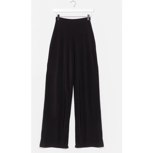 Womens Pantalon Large Effet Soyeux Tu M'As Largement Saoulée - Nasty Gal - Modalova