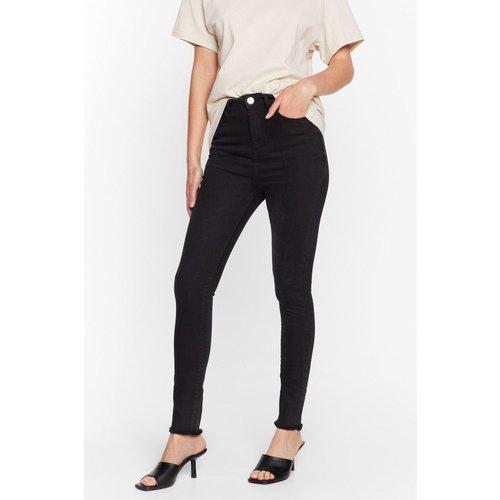 Womens Jean Skinny Taille Haute Adversaire De Taille - Nasty Gal - Modalova