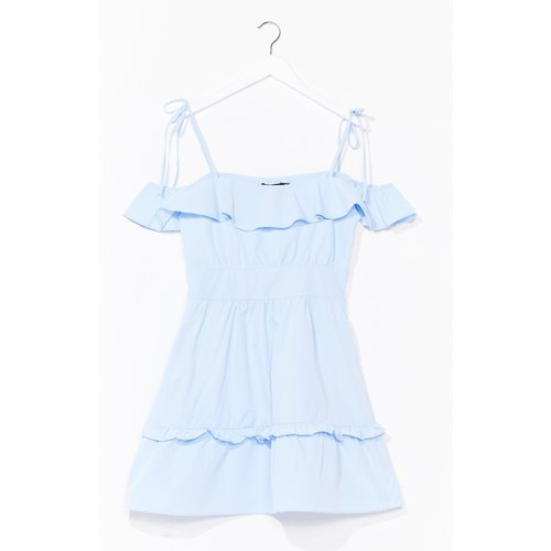 Womens Sun Trap Ruffle Mini Dress - Nasty Gal - Modalova