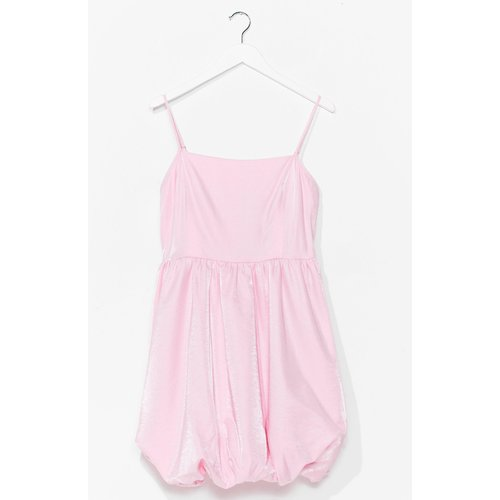 Womens Taffeta Puffball Mini Dress - Nasty Gal - Modalova