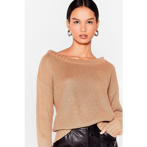 Womens Pull Ample En Maille Oh Maille Love - Nasty Gal - Modalova