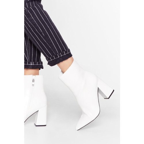 Womens Bottines Pointues En Similicuir Ma Botte Secrète - Nasty Gal - Modalova