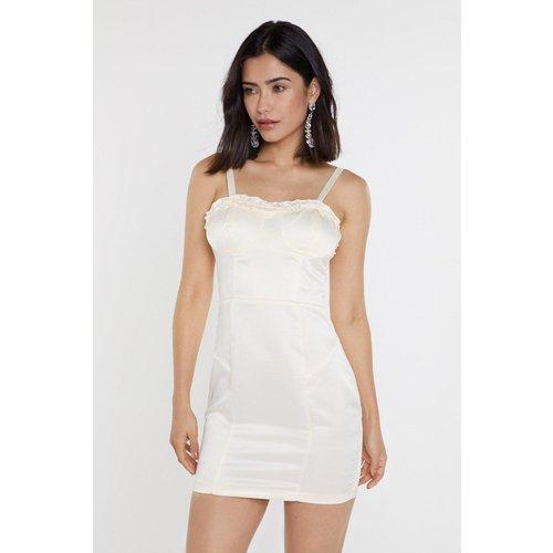 Womens I Got You Babe Bustier Mini Dress - Nasty Gal - Modalova