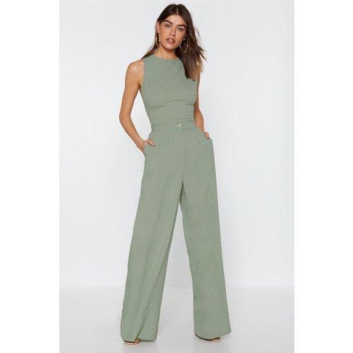 Womens Pantalon Large À Taille Haute Une Grosse Dose De Swag - Nasty Gal - Modalova