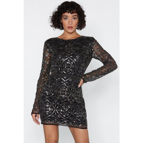 Womens Oh Damn Sequin Dress - Nasty Gal - Modalova